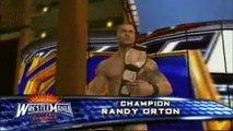 Randy Orton vs. Triple H vs. John Cena - WrestleMania XXIV - SVR2009 Highlight Reel