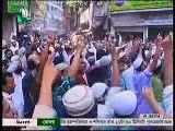 Bangladesh Hefajat-E Islam VS Bangladesh Shahbag Gonojagoron Mancha face to face at Dhaka