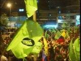 Manifestantes se enfrentaron con consignas a favor y en contra del Gobierno