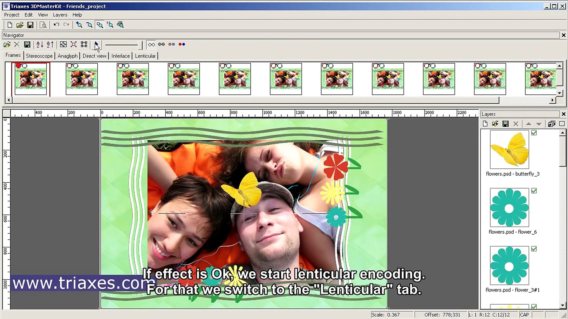 free lenticular software download
