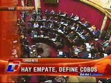 Julio Cobos, la decisión mas dificil de su vida... II
