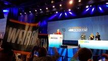 Elizabeth Warren speaks to California Democrats; rips Republicans