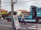 交通誘導警備(舗装工事に伴う片側交互通行)①