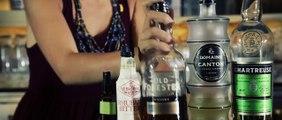 "Metropole presents a sazerac-inspired bourbon cocktail ""Lieutenant"""