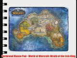 Northrend Mouse Pad - World of Warcraft: Wrath of the Lich King