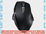Perixx MX-2200 Dual Mode Wired and Wireless Gaming Mouse - Avago 2000dpi A3050 Optical Sensor