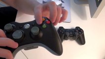Xbox 360 vs PS3- Controllers