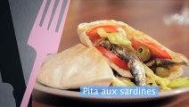 Pita aux sardines : une recette saine et savoureuse au moins de 5 mn
