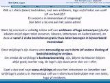 tshirts bedrukken Veenendaal