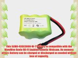 3000mAh 5LMH-43SC3000-W-T Battery for WowWee Rovio Wi-Fi Enabled Robotic Webcam