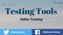 Testing Tools Online Training | Testing Tools Online Tutorials