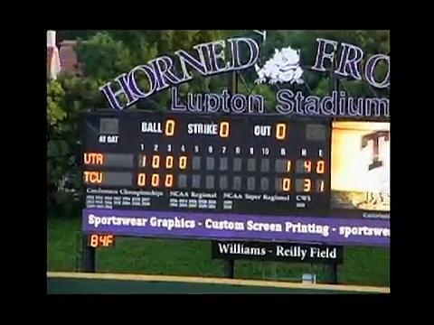 TCU UTA Baseball Highlights 2012.avi
