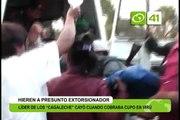 Lider de los 'Cagaleche' cayó cuando cobraba cupo en Virú - Trujillo