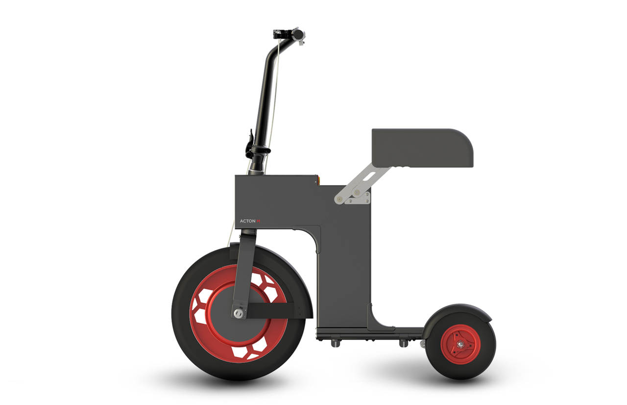 M-Scooter – The three wheel electric scooter
