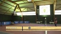 Andy Murray s'essaie au Half Court Challenge