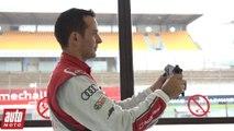 24 Heures du Mans 2015 : découvrez le volant de l'Audi R18 e-tron quattro avec Benoit Tréluyer