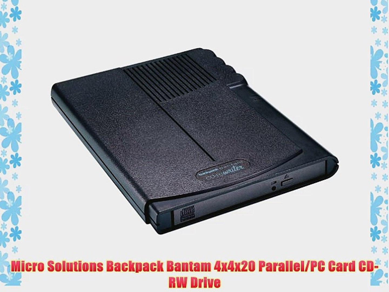 MICROSOLUTIONS BACKPACK CD REWRITER USB TREIBER WINDOWS 8