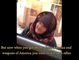 """Old Elderly Woman Stands Up To ISIS Fighters, """"Fear God""""  (Original)"""