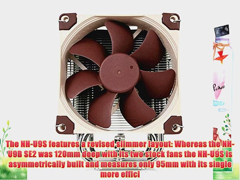 Noctua Premium Quality Quiet CPU Cooler for Intel LGA 2011115611551150 and AMD AM2/AM2 /AM3/3 FM1/2