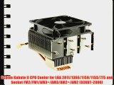 Scythe Kabuto II CPU Cooler for LGA 2011/1366/1156/1155/775 and Socket FM2/FM1/AM3 /AM3/AM2 /AM2