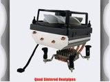 Gelid CC-Spirit-01 Spirit Quadheatpipe Silent CPU Fan / CPU Cooler For Intel