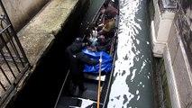 Gondolas, Grand Canal, Venice, Italy, Europe