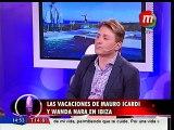 Las vacaciones de Wanda Nara y Mauro Icardi en Ibiza