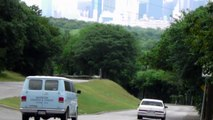 HD Downtown Dallas Texas Skyline As Seen From a Hill in South Dallas Trees View Hills