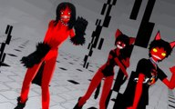 Smile dog&Grinny the cat&Smile dog- Comin' in hot (MMD)