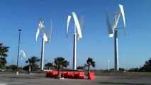 """11 UGE """"Vertical Axis"""" Wind Turbines Power a Sustainable University in Texas"""