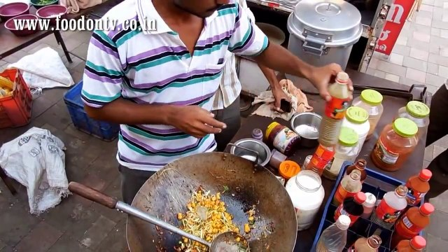 The Skillful Master Chefs in the Street Kitchens of India