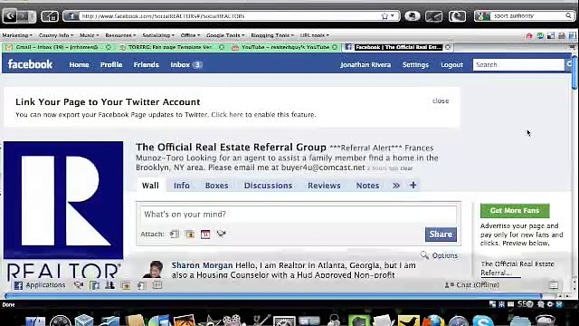 Advertising: Facebook Real Estate Referral Group