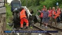 Grave accident à un passage à niveau près de Lille