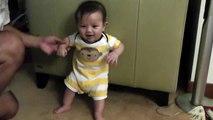 Korean/Indian baby laughing - cute funny HD