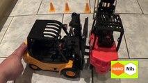 Big RC Forklift with light - Großer RC Gabelstapler mit Licht