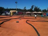 Epic remote control car race!  World's fastest cars racing crashes, jumps flips at the races