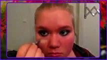 Mia: Flirty og romantisk valentinsdag makeup tutorial | Youngblood P. M. Eyeshadow Quad