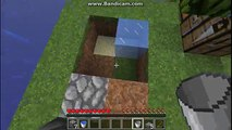 Minecraft - How to Make a Simple Cobblestone Generator (Helpful in
