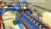 Corner bead, corner angle, wall angle roll forming machine