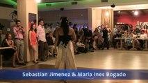 Sebastian Jimenez & Maria Ines Bogado 1/3. SUNNY TANGO FESTIVAL 2012, Crete, Greece