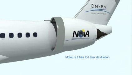 NOVA - Concept d'avion de transport plus économe en carburant