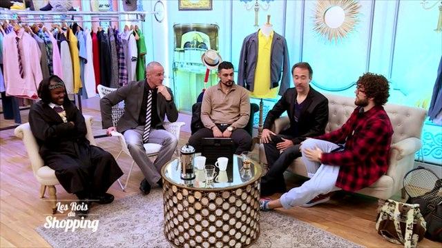 Les ''Reines du shopping'' laissent la place aux ''Rois du shopping'' au show-room !