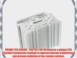 Enermax Cluster CPU Air Cooler with 120mm LED Fan Cooling ETS-T40-W White