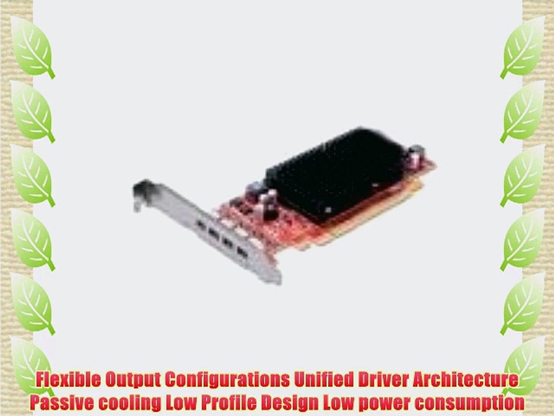 ATI FirePro 2460 512MB graphics memory 4x Mini Display Port Low Profile PCI  Express Video Card
