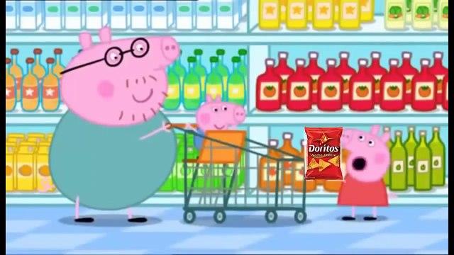 「MLG」 Peppa pig -  Shopping