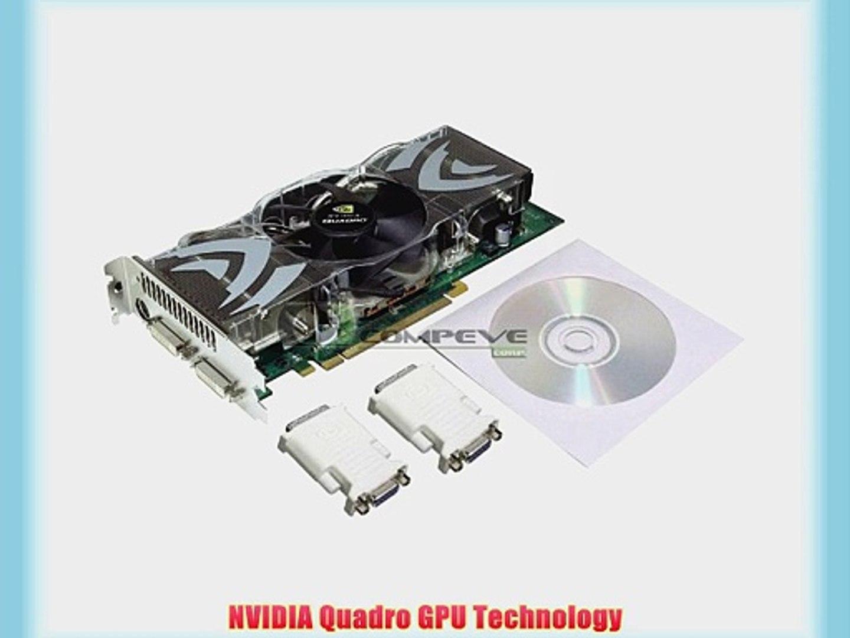 PNY VCQFX5500-PCIE-PB Quadro FX 5500 Professional Graphic Card