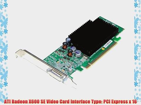 Windows 7 Dual Monitor SFF PCIe X16 Video Card Low Profile DELL Radeon HD2400
