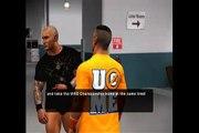 SVR 11 - John Cena vs Randy Orton - Backstage Brawl - Cena's Road to Wrestlemania (8)