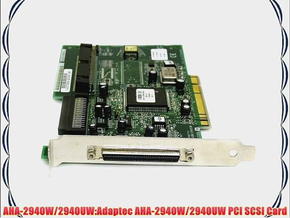 ADAPTEC AIC-7899 SCSI CONTROLLER WINDOWS 7 X64 DRIVER