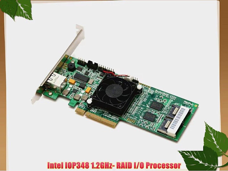 HighPoint RocketRAID 3120 PCI-E x1 SATA II 3Gb//s 2 Channel RAID Controller Card